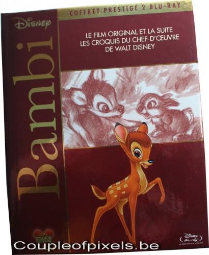 craquage,achats,blu ray, bambi