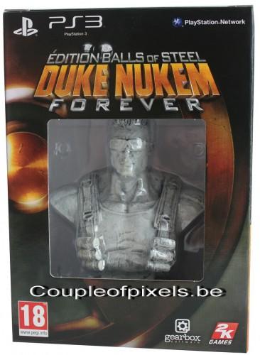 déballage,duke nukem forever,2k games,gearbox software,fps,collector,balls of steel