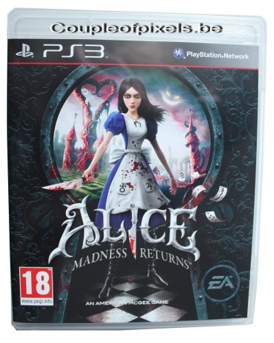 craquage,arrivage, jeu-video, alice madness returns