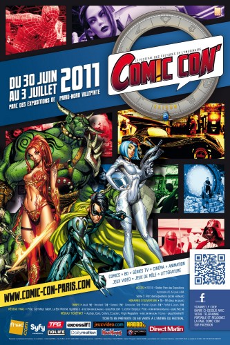 comic con,comic con paris,japan expo,namco bandai,j. scott campbell,salon,merlin,noob,comics