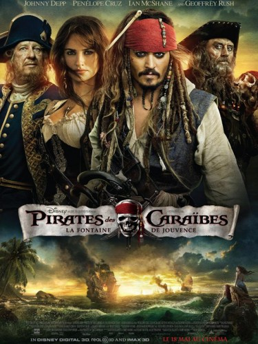 Pirates des Caraibes, Pirates of the Caribbean, sirène, cinéma,