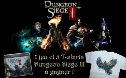 concours,résultats,gagnants,dungeon siege 3,t-shirt,square enix