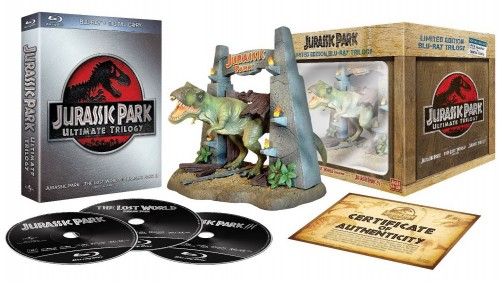 blu-ray, Jurassic Park, collector, précommande