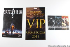 gamescom 2011, goodies