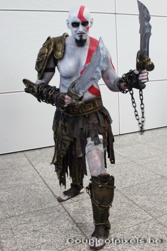 gamescom 2011,photos,insolite,cosplay, kratos