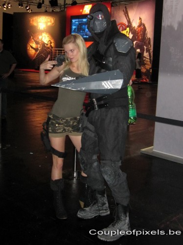 gamescom 2011,photos,insolite,cosplay, prototype, world of tanks girls