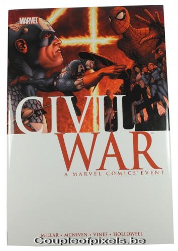 craquage, comics, civil war