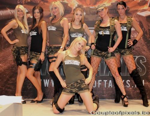 gamescom 2011,world of tanks,world of tanks girls,babes,sexy