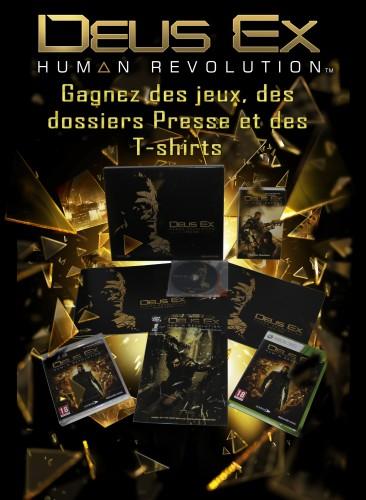 concours,résultats,gagnants,deus ex,deus ex : human revolution,square enix,dossier presse,t-shirt