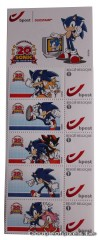 arrivage,craquage, timbres, sonic