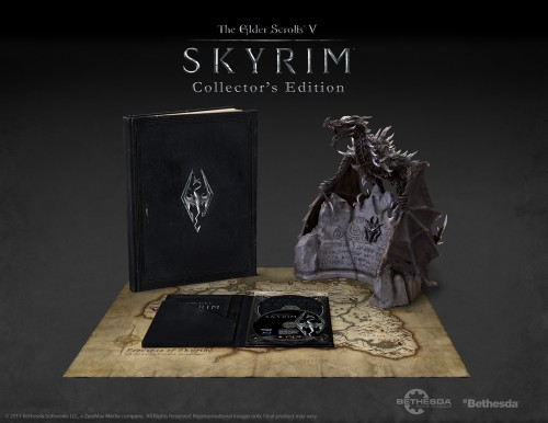 skyrim, the elder scrolls, bethesda, PC, ps3, xbox360, collector, craquage