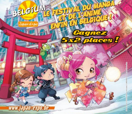 concours,gagner,places,japan expo belgium 2011,japanimation,manga