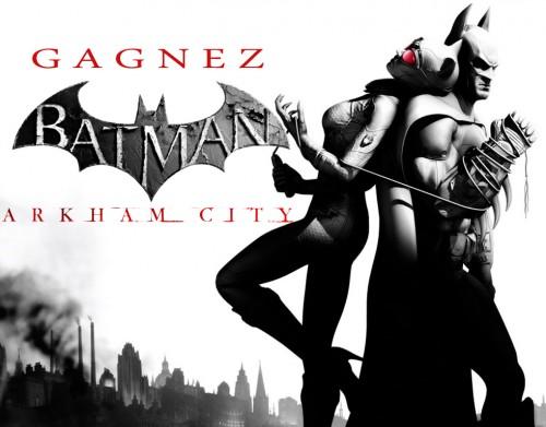 concours, batman arkham city, warner bros, ps3