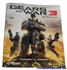dossier presse,kit presse,gears of war 3,goodies