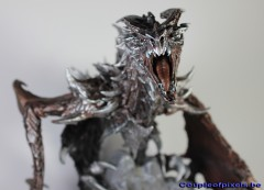 the elder scrolls, skyrim, bethesda, figurine, figurine photo, dragon