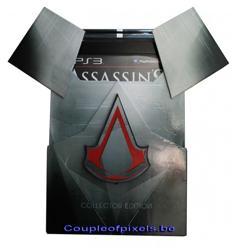déballage,collector,assassin's creed,assassin's creed revelations,ubisoft