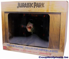 jurassic park,collector,blu-ray,figurine