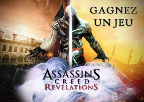 assassin's creed,assassin's creed revelations,ubisoft,gagner,concours