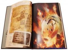 Sur la piste des dragons oubliés, Black'Mor, Glénat, Drugstores, artbook, craquage
