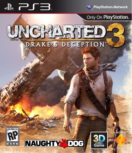 uncharted 3, jaquette