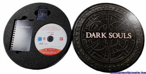 dark souls,déballage,kit presse,namco