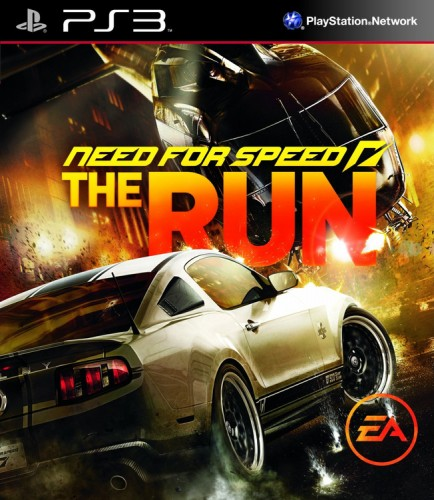 need for speed the run, jaquette, ps3