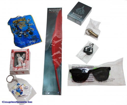 concours,concours 1 an,gagner,assassin's creed revelations,ruse,rayman,goodies,ubisoft