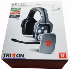 triton, casque, gaming