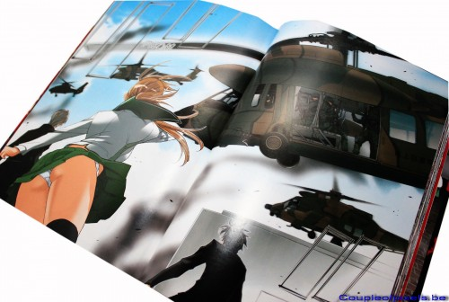 highschool of the dead, manga, colorisé