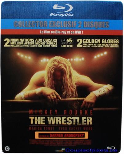 the wrestler, blu-ray