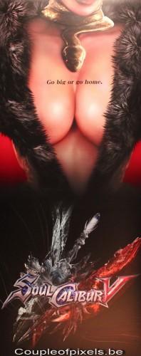 soulcalibur 5, ivy, affiche