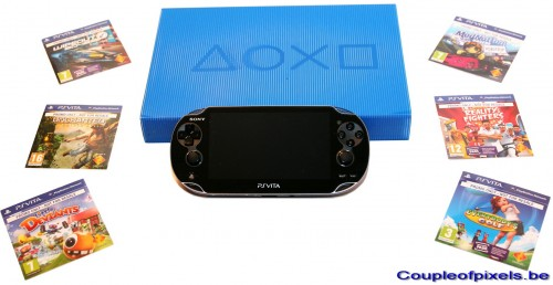 déballage,ps vita,kit presse