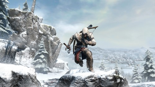 ac3,assassin's creed 3,ubisoft,connor,screenshots