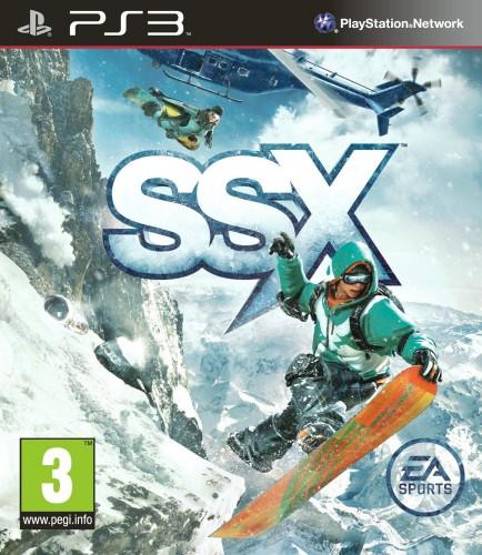 SSX, jaquette, PS3