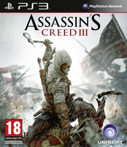 ac3,assassin's creed 3,jaquette, ps3