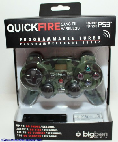 pad, ps3, quickfire, big ben