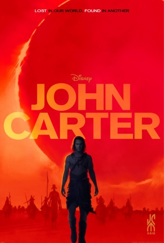 John Carter, disney, cinéma, film, Edgar Rice Burroughs