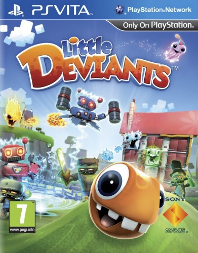 little deviants, jaquette, ps vita