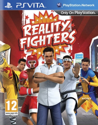 reality fighters, jaquette, ps vita