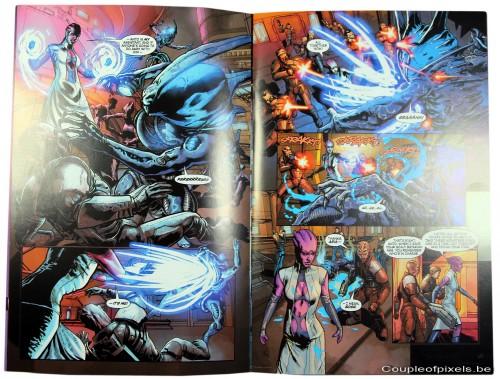 mass effect 3,déballage,collector,comics,bioware,electronic arts