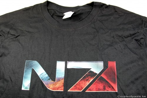 t-shirt, mass effect, n7, made in asia 2012