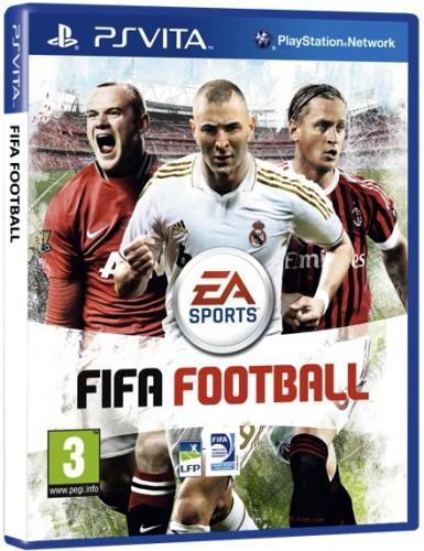 fifa football, ps vita, jaquette
