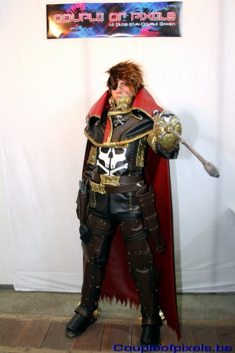 Captain Harlock, Albator, cosplay, Made in Asia 2012