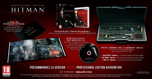 hitman, hitman absolution, collector, professional edition