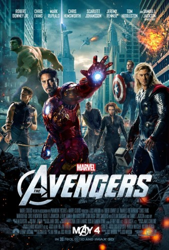The Avengers, Affiche, concours