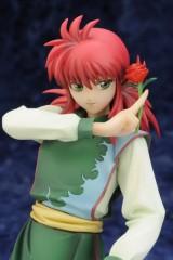 yuyu hakusho,hiei,kurama,figurine,pvc,kotobukiya
