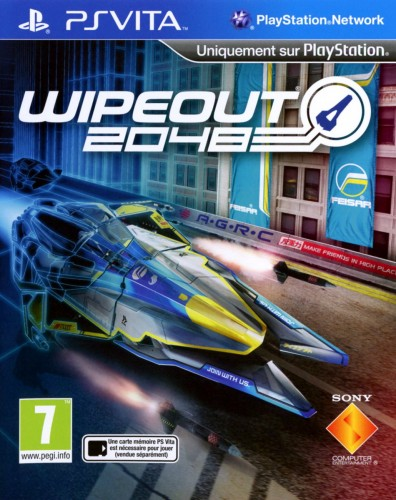wipeout 2048, jaquette