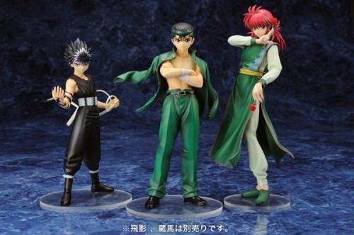 yuyu hakusho,figurine,kotobukiya,yusuke urameshi