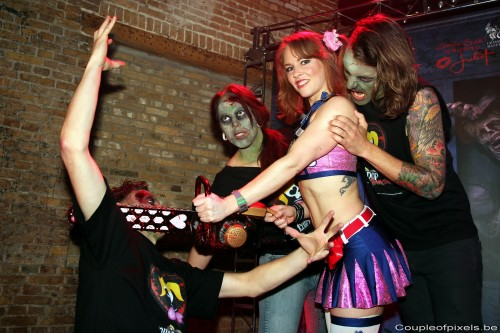 lollipop chainsaw,preview,event,warner,juliet starling,sexy