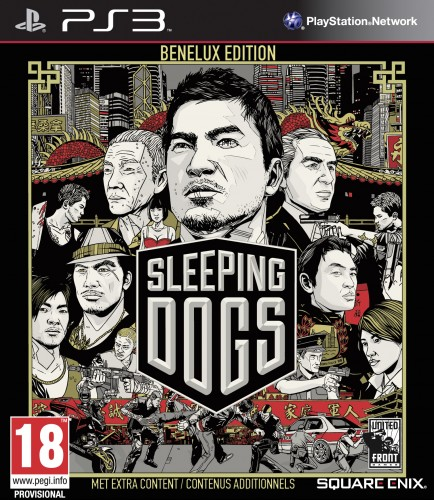 sleeping dogs, jaquette, PS3